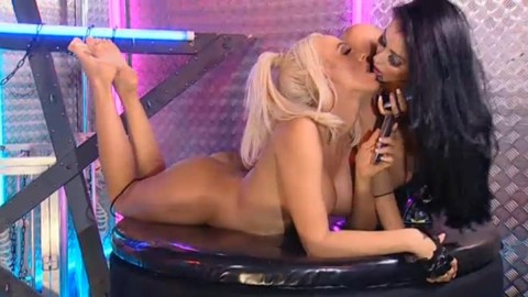 TelephoneModels.com 28 09 2013 01 54 52 480x270 Lucy Summers & Yasmine James   Playboy TV Chat   September 28th 2013