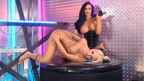 TelephoneModels.com 28 09 2013 01 57 43 480x270 Lucy Summers & Yasmine James   Playboy TV Chat   September 28th 2013