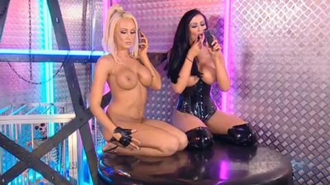 TelephoneModels.com 28 09 2013 01 59 49 480x270 Lucy Summers & Yasmine James   Playboy TV Chat   September 28th 2013