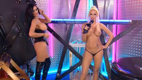TelephoneModels.com 28 09 2013 02 07 31 480x270 Lucy Summers & Yasmine James   Playboy TV Chat   September 28th 2013