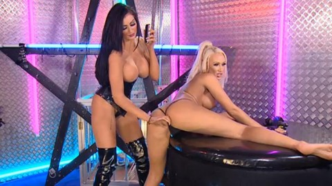 TelephoneModels.com 28 09 2013 02 08 30 480x270 Lucy Summers & Yasmine James   Playboy TV Chat   September 28th 2013