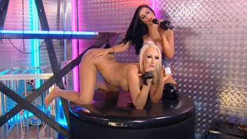 TelephoneModels.com 28 09 2013 02 16 21 480x270 Lucy Summers & Yasmine James   Playboy TV Chat   September 28th 2013