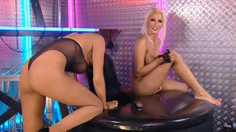 TelephoneModels.com 28 09 2013 03 03 29 480x270 Lucy Summers & Yasmine James   Playboy TV Chat   September 28th 2013
