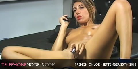TelephoneModels.com French Chloe Sexstation TV September 25th 2013 French Chloe   Sexstation TV   September 25th 2013