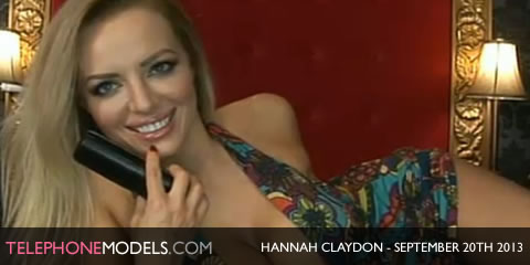 TelephoneModels.com Hannah Claydon Babestation Daytime September 20th 2013 Hannah Claydon   Babestation Daytime   September 20th 2013