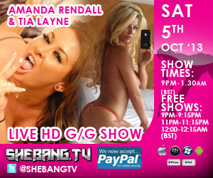300x2501 Amanda Rendall & Tia Layne Shebang TV Hardcore Live Girl/Girl Show Tonight
