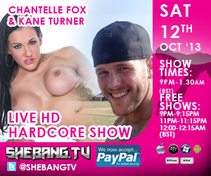 300x2505 Chantelle Fox & Kane Turner Shebang TV Hardcore Live Boy/Girl Show Tonight