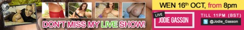Jodie16thOctober726x90 480x59 Jodie Gasson Live Webcam Show Tonight