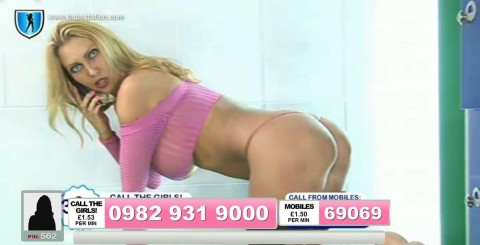 TelephoneModels.com 01 10 2013 22 34 18 480x245 Leigh Darby   Babestation TV   October 2nd 2013