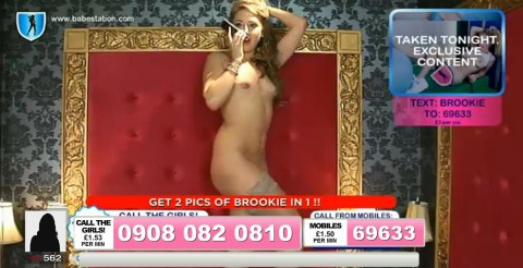 TelephoneModels.com 04 10 2013 01 40 02 480x246 Lexie Rider   Babestation TV   October 4th 2013