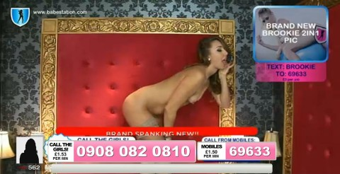 TelephoneModels.com 04 10 2013 01 40 52 480x246 Lexie Rider   Babestation TV   October 4th 2013