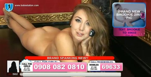 TelephoneModels.com 04 10 2013 01 53 54 480x246 Lexie Rider   Babestation TV   October 4th 2013