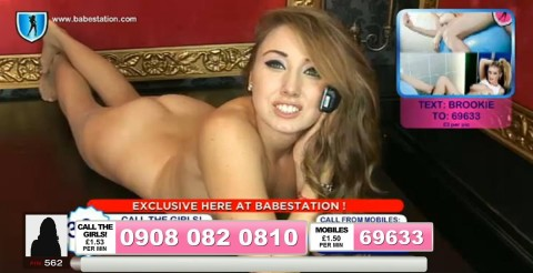 TelephoneModels.com 04 10 2013 01 53 59 480x246 Lexie Rider   Babestation TV   October 4th 2013