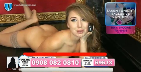 TelephoneModels.com 04 10 2013 01 54 36 480x246 Lexie Rider   Babestation TV   October 4th 2013