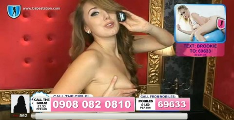 TelephoneModels.com 04 10 2013 02 04 02 480x246 Lexie Rider   Babestation TV   October 4th 2013