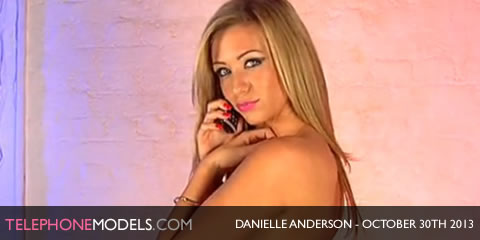 TelephoneModels.com Danielle Anderson Studio 66 TV October 30th 2013 Danielle Anderson   Studio 66 TV   October 30th 2013