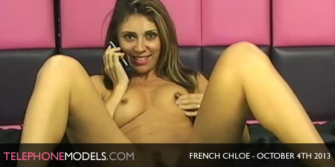 TelephoneModels.com French Chloe Sexstation TV October 4th 2013 French Chloe   Sexstation TV   October 4th 2013