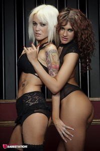 TelephoneModels.com Lacey Lorenzo Nancy Roxx Babestation Shoot 1 199x300 Lacey Lorenzo & Nancy Roxxx Babestation Shoot