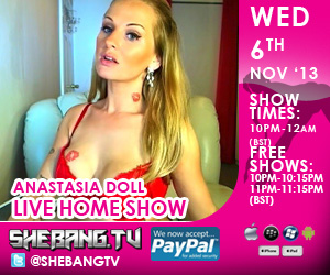 300x2503 Anastasia Doll Shebang TV Hardcore Live Home Show Tonight