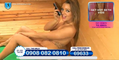 TelephoneModels.com 26 11 2013 23 42 29 480x245 Beth   Babestation TV   November 27th 2013