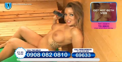 TelephoneModels.com 26 11 2013 23 42 31 480x245 Beth   Babestation TV   November 27th 2013