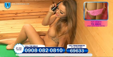 TelephoneModels.com 26 11 2013 23 43 52 480x245 Beth   Babestation TV   November 27th 2013