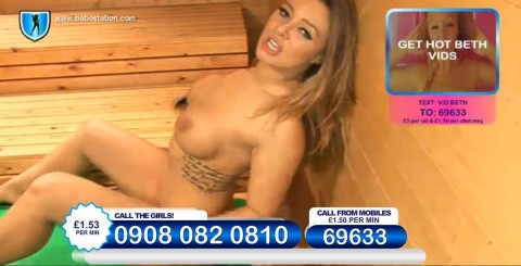TelephoneModels.com 26 11 2013 23 44 03 480x245 Beth   Babestation TV   November 27th 2013
