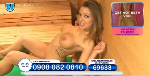 TelephoneModels.com 26 11 2013 23 44 04 480x245 Beth   Babestation TV   November 27th 2013