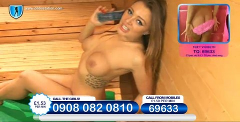 TelephoneModels.com 26 11 2013 23 44 39 480x245 Beth   Babestation TV   November 27th 2013