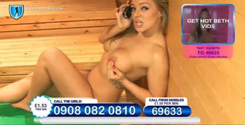 TelephoneModels.com 26 11 2013 23 47 29 480x245 Beth   Babestation TV   November 27th 2013