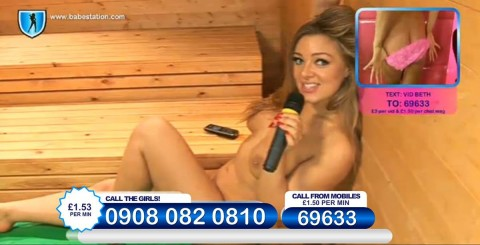 TelephoneModels.com 26 11 2013 23 50 09 480x245 Beth   Babestation TV   November 27th 2013