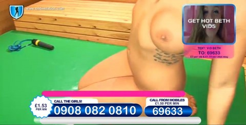TelephoneModels.com 27 11 2013 00 29 38 480x245 Beth   Babestation TV   November 27th 2013
