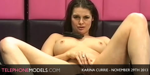 TelephoneModels.com Karina Currie Sexstation TV November 29th 2013 Karina Currie   Sexstation TV   November 29th 2013