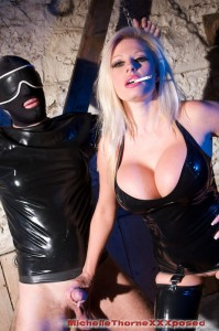 TelephoneModels.com Michelle Thorne Latex Dungeon 1 199x300 Michelle Thorne Latex Dungeon