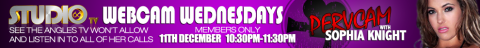 webcamw 480x48 Sophia Knight Pervcam Studio 66 TV Webcam Wednesdays Live Members Only Show Tonight