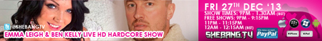 468x604 Emma Leigh & Ben Kelly Shebang TV Hardcore Boy/Girl live Show Tonight