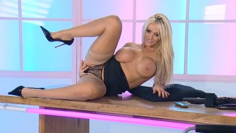 TelephoneModels.com 18 12 2013 02 02 50 480x270 Lucy Zara   Playboy TV Chat   December 18th 2013