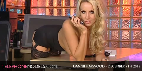 TelephoneModels.com Dannii Harwood Red Light Central December 7th 2013 Dannii Harwood   Playboy TV Chat   December 7th 2013