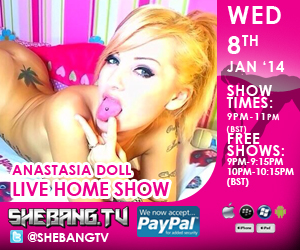 300x2502 Anastasia Doll Shebang TV Live Hardcore Home Show Tonight