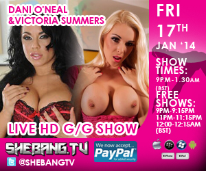 300x2504 Dani ONeal & Victoria Summers Shebang TV Hardcore Girl/Girl Live Show Tonight