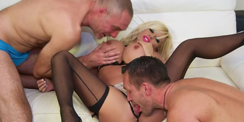 TelephoneModels.com Michelle Thorne Double Blowjob Cumslut 1 Michelle Thorne Double Blowjob Cum Slut Video