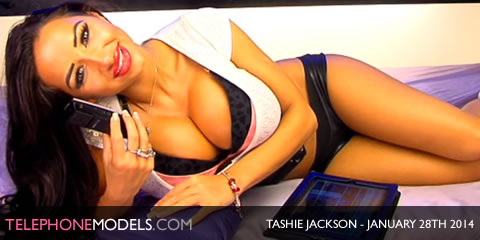 TelephoneModels.com Tashie Jackson Studio 66 TV January 28th 2014 Tashie Jackson   Studio 66 TV   January 28th 2014