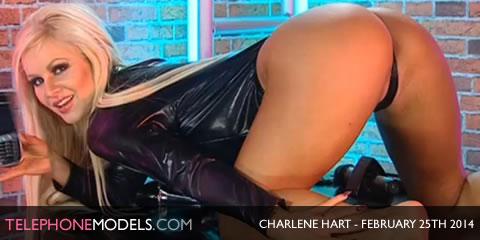 TelephoneModels.com Charlene Hart Playboy TV Chat February 25th 2014 Charlene Hart   Playboy TV Chat   February 25th 2014
