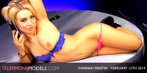 TelephoneModels.com Hannah Martin Studio 66 TV February 12th 2014 Hannah Martin   Studio 66 TV   February 12th 2014
