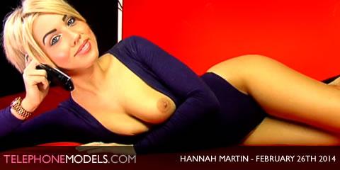 TelephoneModels.com Hannah Martin Studio 66 TV February 26th 2014 Hannah Martin   Studio 66 TV   February 26th 2014