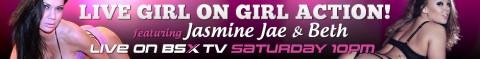128 480x59 Beth & Jasmine Jae Babestation X BSX Live Girl/Girl Show Tonight
