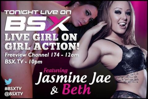 BiOco0cCEAA5kJG 480x320 Beth & Jasmine Jae Babestation X BSX Live Girl/Girl Show Tonight