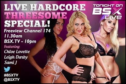 Bj0IqfaCIAEOTrH.jpg large 480x320 Leigh Darby, Sami J & Chloe Lovette Babestation X BSX Live Hardcore Girl/Girl/Girl Show Tonight