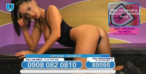 TelephoneModels.com 03 03 2014 22 49 05 480x244 Georgie Darby   Babestation TV   March 4th 2014