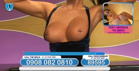 TelephoneModels.com 03 03 2014 22 49 18 480x244 Georgie Darby   Babestation TV   March 4th 2014